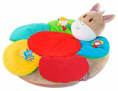 Early Learning Centre BLOSSOM FARM PONY SIT ME UP COSY Baby Soft Toy - BN