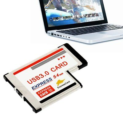 High Full Speed Express Card Expresscard to USB 3.0 54mm Adapter Converter RY