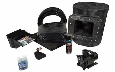 Simply Ponds 1200 Water Garden and Pond Kit with 8' x 10' PVC Liner-PVCX8-3