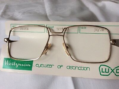 Weitzman Steve  vintage 70/80's  Gold metal glasses