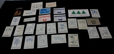 Stamps of Canada Lot 28x Complete Booklets