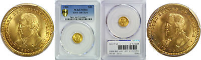 1905 Lewis and Clark $1 Gold Commemorative PCGS MS-66