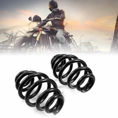 """1 Pair Motorcycle Accessories 3"""" Steel Solo Seat Barrel Springs For Harley RY"""