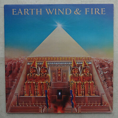 """!! LP Vinyl Earth Wind & Fire """"All `n All"""" A&M Records !!"""