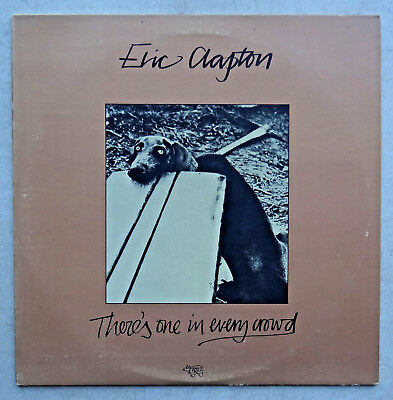 """!! LP Vinyl Eric Clapton """"There`s one in every Crowed"""" 1975 RSO  !!"""
