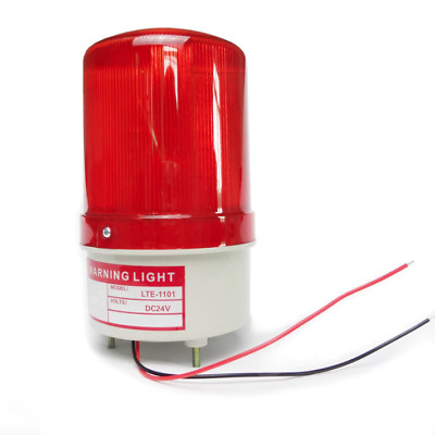 Industrial Outdoor Warehouse Red Warning Light Flashing Beacon 110V 220V 12V 24V