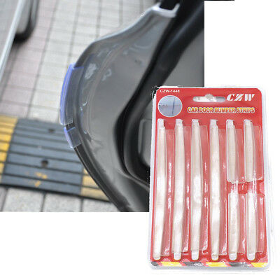 8x Car Door Edge Guards Protection Strip Scratch Protector Anti-rub Transparant