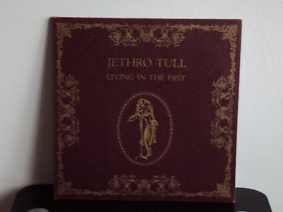 JETHRO TULL Living In The Past DOPPEL-LP 1972 mit BOOKLET CHRYSALIS 6499520-21