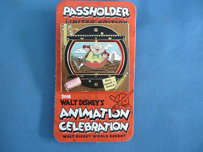 MR TOAD Disney Pin 2018 PASSHOLDER EXCLUSIVE ANIMATION CELEBRATION Event LE NEW