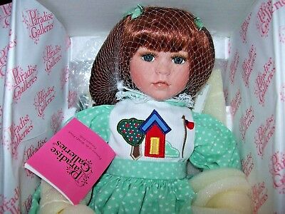 "Paradise Galleries / Linda Mason Doll Talking  Memories ""courtney"" With Coa"