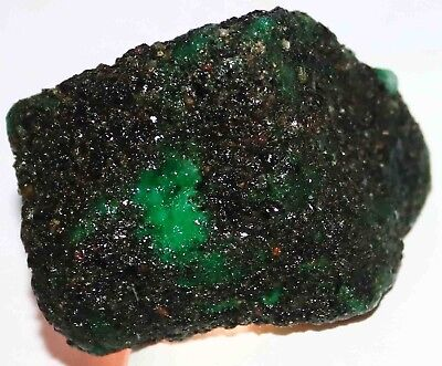 One Time Sale 429.90Ct EGL Certified Natural Green Emerald Rough Gemstone BA2468