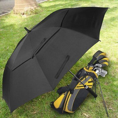 Extra Large Double-canopy Windproof Waterproof Automatic Open Golf Umbrella RY