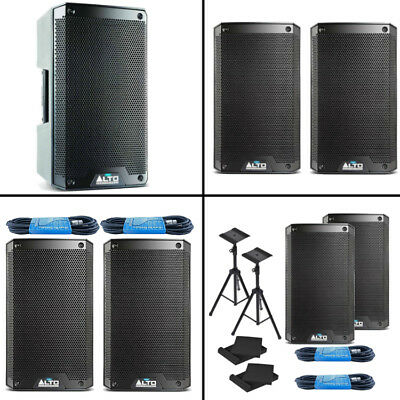 "Alto Professional TS308 8"" 2000W 2-Way Active PA Speaker BUNDLE OPTIONS *New*"