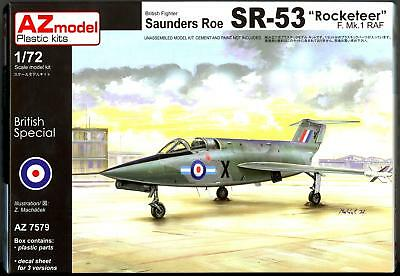 AZ Models 1/72 SAUNDERS ROE SR-53 F. Mk.1 ROCKETEER British Jet Fighter