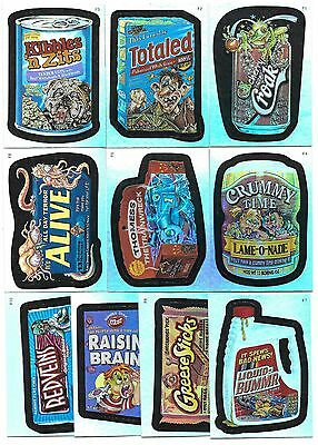 2006 Topps WACKY PACKAGES ANS Series 3 Foil Insert Set  (10 Cards)