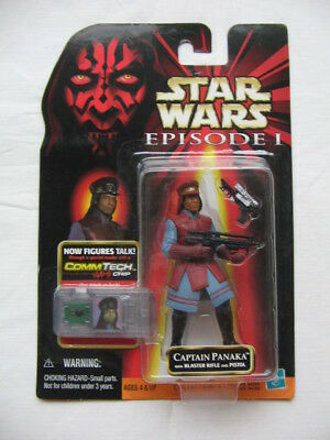 Star Wars Ep.1 - Captain Panaka with Blaster Rifle and Pistol