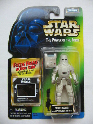 Star Wars POTF-2 - Imperial Snowtrooper with Imperial Blaster Rifle