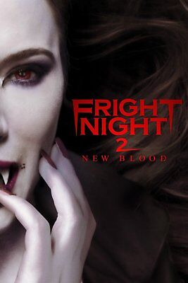 ~ Fright Night 2  : New Blood ~ Unrated Dvd 2013 Jaime Murry Horror Save A Lot
