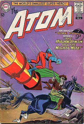 The Atom # 6 - Dick Turpin Appears - Gil Kane/murphy Anderson Art