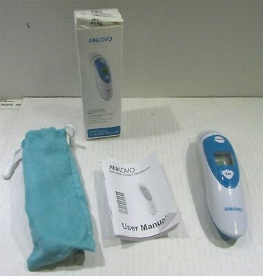 ANKOVO Thermometer,Fever Digital Medical Infrared Forehead & Ear Thermometer