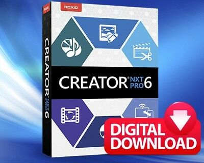 ROXIO CREATOR NXT PRO 6 - Download Link+ Product Key - LIFETIME LICENSE