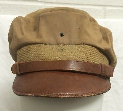 Wwii Officer Crusher Cap 1000 Hour Us Army Air Force Bancroft Flighter Named Lt