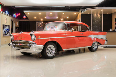1957 Chevrolet Bel Air Hard Top Frame Off, Rotisserie Restored! GM 350ci V8, TH350 Automatic, Posi, PS, PB, A/C