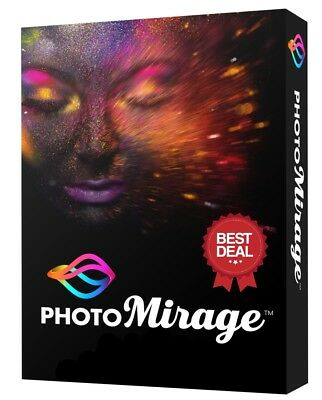 COREL PHOTOMIRAGE  DOWNLOAD LINK + LICENSE KEY - MULTILINGUAL WINDOWS x64 ONLY