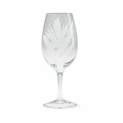 Island Heritage 2 Bird of Paradise Etched Water Goblets