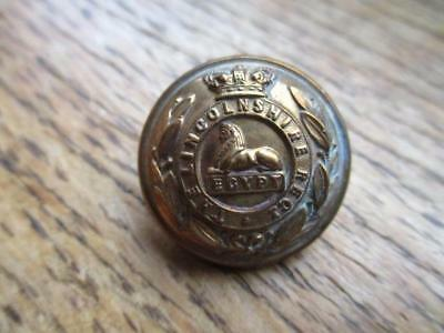 19th Century Army Uniform Military Button Lincolnshire Regiment