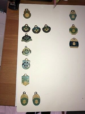 Manly Warringah Masonic Club Membership Tags Collection
