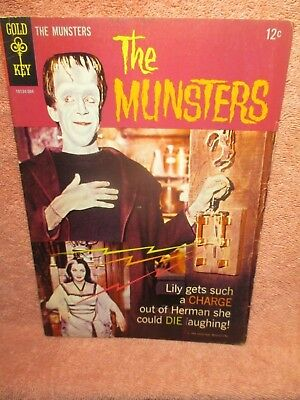 """Wow! 1965 Gold Key Comic """"the Munsters"""" #2"""