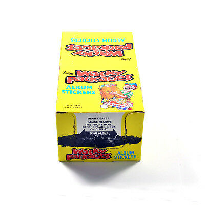 1986 Topps Wacky Packages Stickers Box 100 Packs