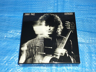 Jimmy Page Outrider Empty PROMO BOX JAPAN for Mini LP SHM CD (Box Only)