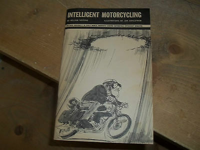 1966 Book Intelligent Motorcycling Norton Triumph Honda Suzuki Yamaha Manual