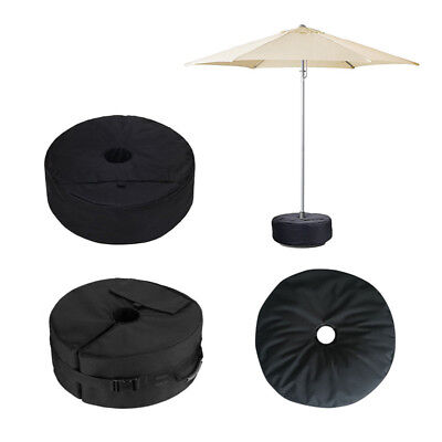 Foldable Weight Sand Bag Umbrella Base Stand Outdoor Tent Patio Round Windproof