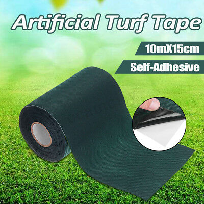 10x0.15m Self-Adhesive Artificial Synthetic Turf Grass Joining Lawn Tape