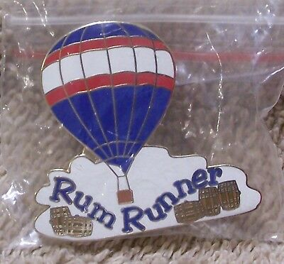 Rum Runner Balloon Pin