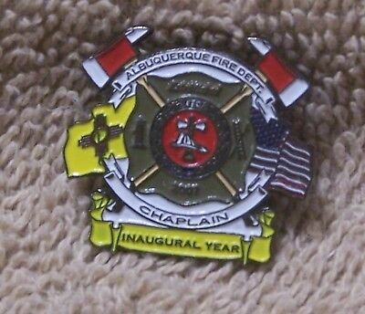 2007 Albuquerque Fire Dept. Chaplain Inaugural Year Balloon Pin