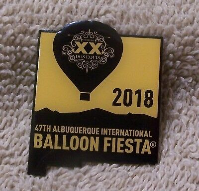 2018 Cerveza Xx Dos Equis Albuquerque International Balloon Fiesta Balloon Pin