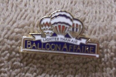 Lighter Than Air Balloon Affaire Balloon Pin