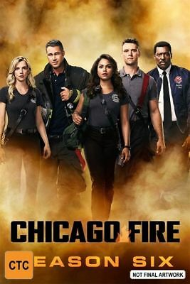 Chicago Fire Season Six 6 DVD NEW Region 4