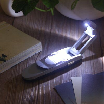 LED Flexible Clip On Book Reading Bright Light Lamp Torch Ipad Kindle Laptop@