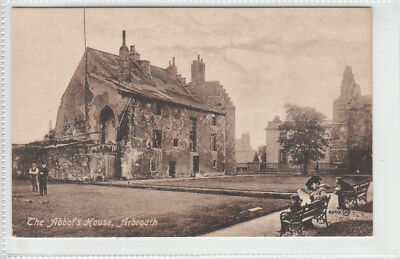 The Abbot's House Arbroath 1903 Published 1919 Valentines 40713 Old Postcard