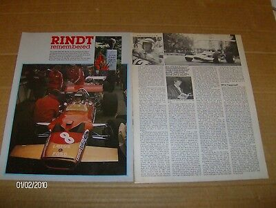 JOCHEN RINDT  REMEMBERED  ARTICLE 1980  #Rindt01