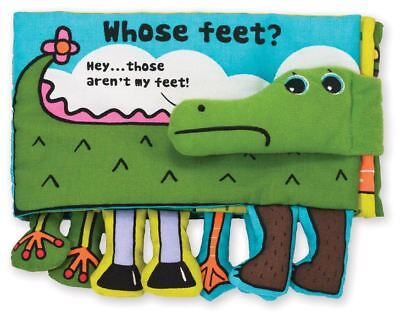Melissa & Doug WHOSE FEET? Pre-School Young Children Toys Games BN