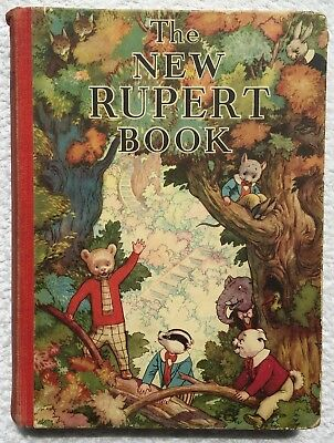 RUPERT BEAR ANNUAL 1938 ORIGINAL Not Inscribed. BRIGHT & CLEAN SOUND VG EXAMPLE