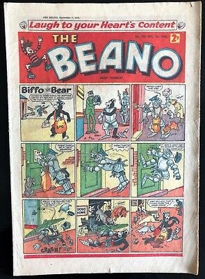 THE BEANO COMIC 1st DECEMBER 1956 VG CONDITION