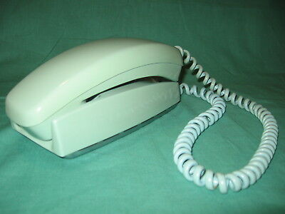 WESTERN ELECTRIC VINTAGE TRIMLINE Phone, Turquoise BLUE, Rotary Dial cord cut