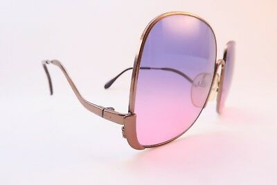 Vintage early 70s sunglasses made Austria by Silhouette Mod. 444 54-18 130 exc